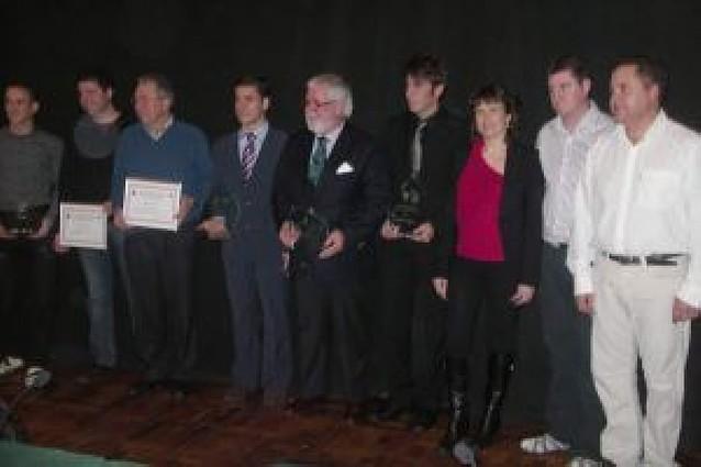 Premios a los triunfadores de la Feria de Tafalla