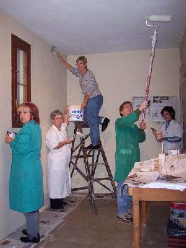La sacristía del monasterio de Azuelo se renueva para Navidad
