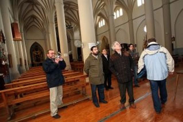 Murchante pide ayuda al Gobierno de Navarra para frenar el progresivo deterioro de su iglesia