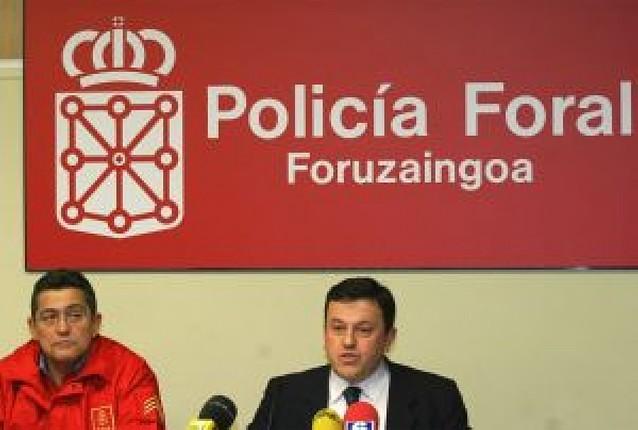 Los sindicatos de la Policía Foral piden la destitución del jefe y del director de Interior
