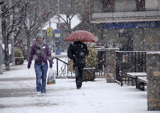 Riesgo importante de nevada en 14 provincias de Galicia, las dos Castillas y Andalucía