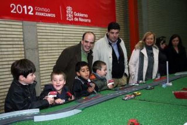 Apertura del parque infantil DINA
