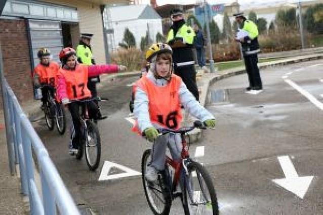 El XI Campeonato local de Educación Vial reúne a 56 escolares en Tudela