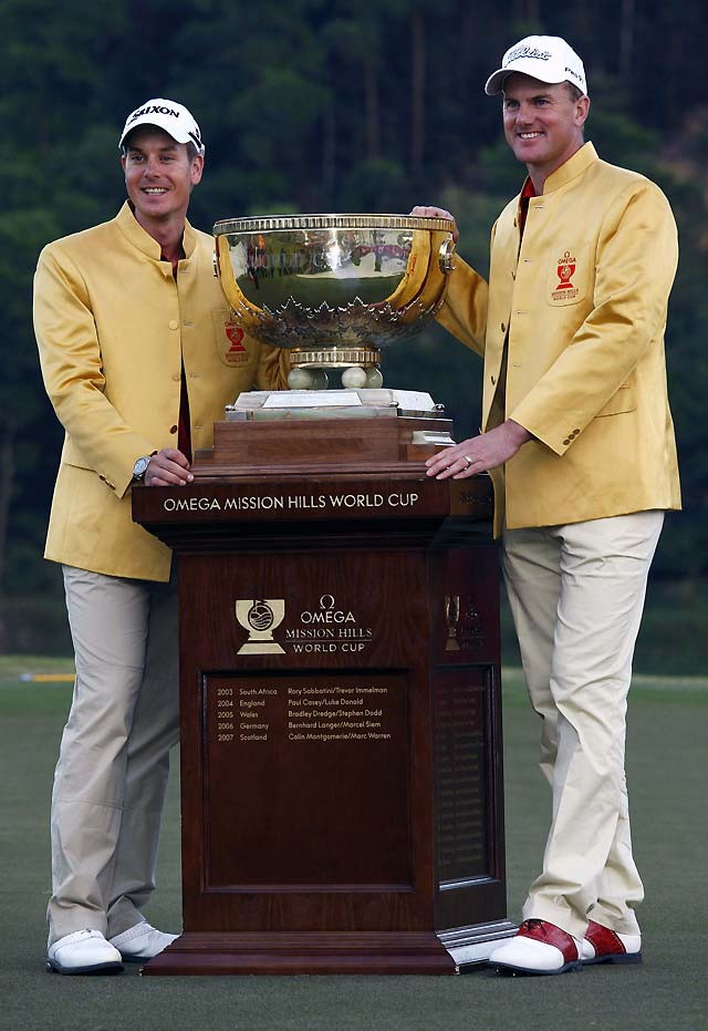 Henrik Stenson y Robert Karlsson logran la Copa del Mundo de golf para Suecia