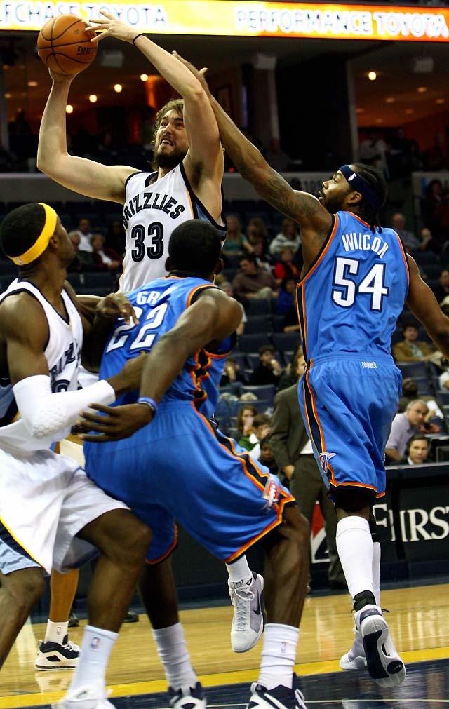 Memphis encaja su sexta derrota seguida frente a los Thunder (111-103)