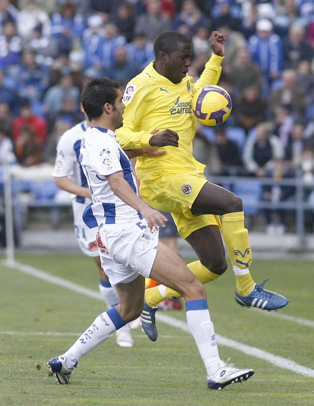 El Dépor mira a los puestos europeos tras su victoria en Almería (0-1)
