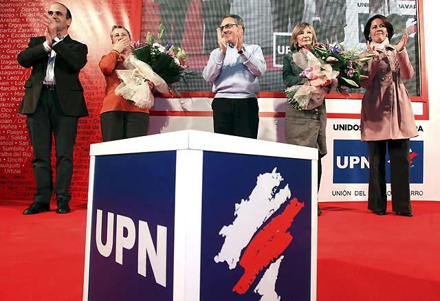 """Sanz: """"UPN no será nunca la franquicia de ningún partido político"""""""