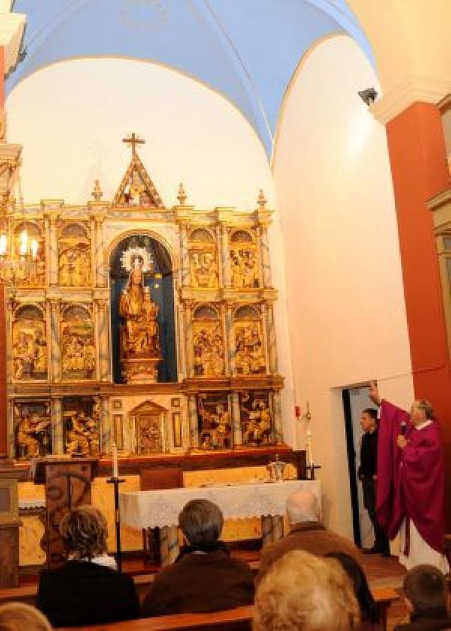 Mendigorría reinaugura su antigua parroquia restaurada