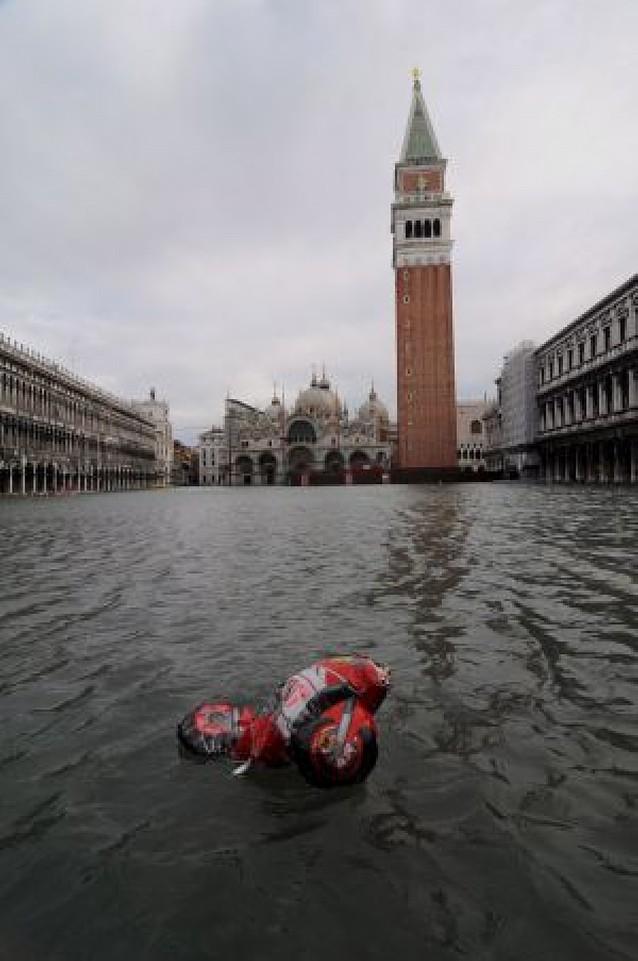 Venecia, inundada otra vez