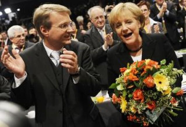 Ángela Merkel reafirma su cargo en el partido CDU