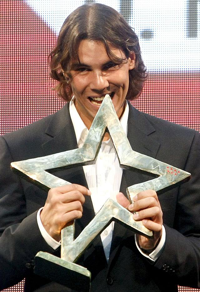 Rafa Nadal recibe el premio Internacional del Deporte de la Comunidad de Madrid