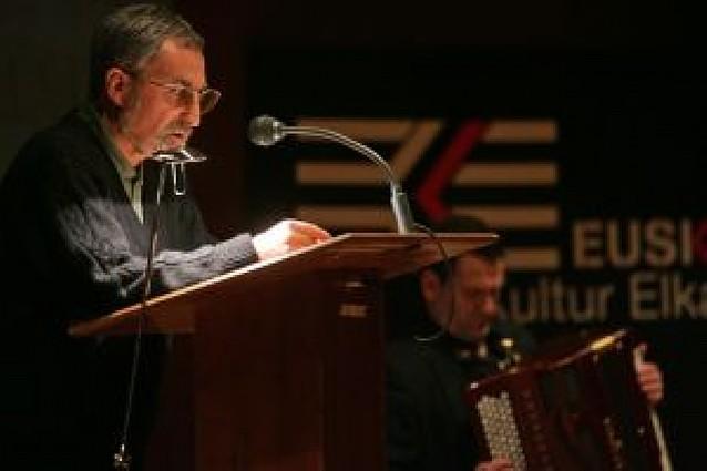 Recital de Xabier Lete en Pamplona