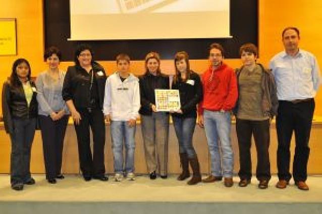 El instituto de San Adrián presenta en Madrid un libro de medio ambiente