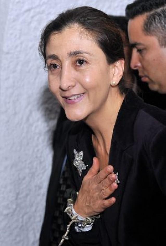 Ingrid Betancourt agradece el apoyo que recibió