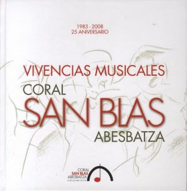 La Coral San Blas de Burlada publica un libro que narra la historia de sus 25 años