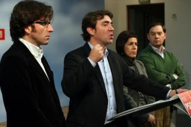 """Jiménez critica el """"mensaje beligerante de la derecha"""" sobre """"blindar Navarra"""""""