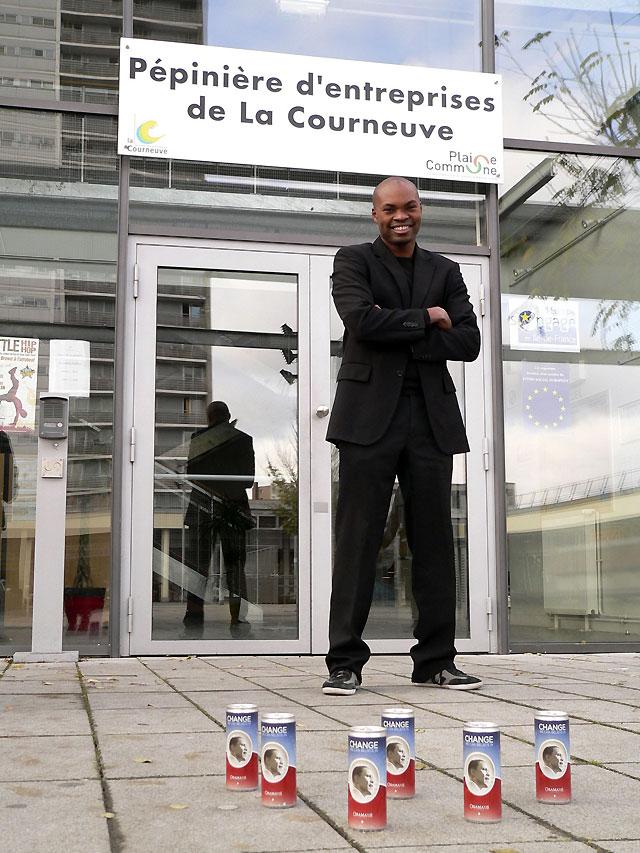 Obama Soda, la bebida que exporta el sueño americano a los suburbios de París