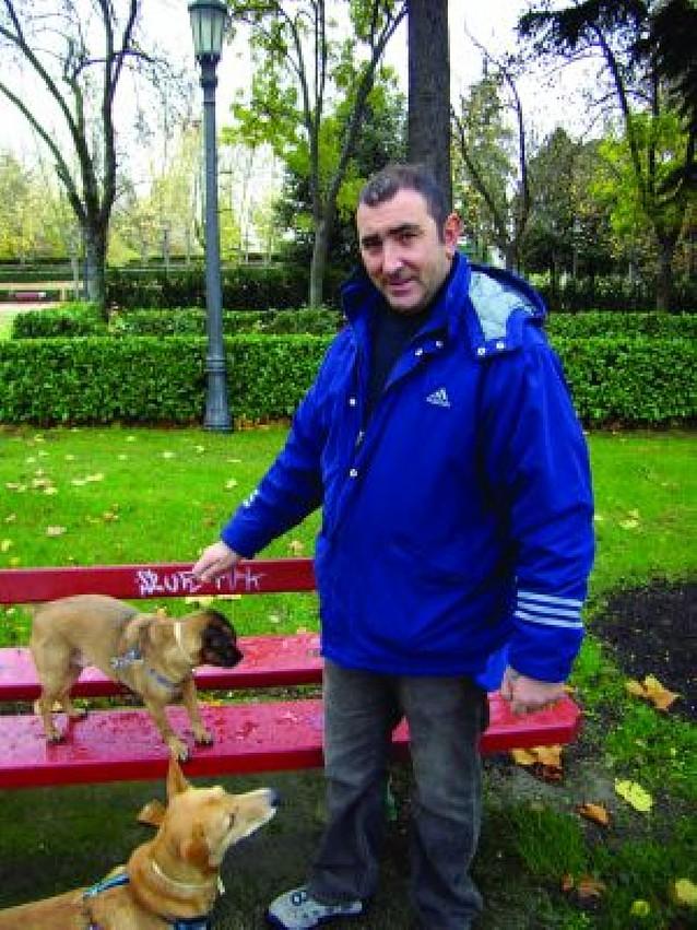Esparcimiento canino, pero sin espacio