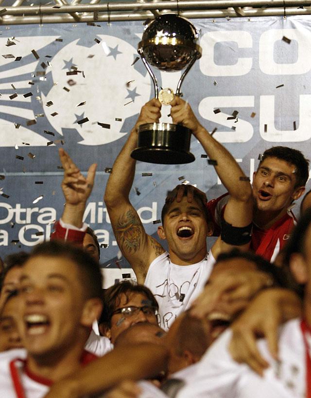 El Internacional brasileño gana su primera Copa Sudamericana en la prórroga