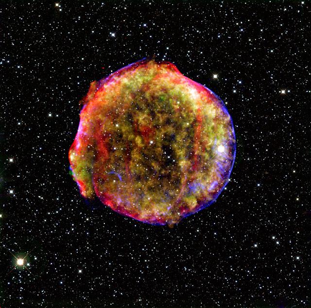 Desvelan la identidad de una supernova observada hace más de 400 años