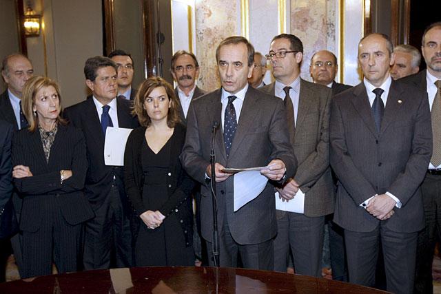 Los partidos reafirman su respaldo a los empresarios vascos frente a ETA