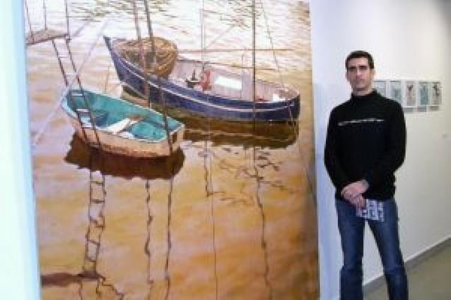 Exposición de Íñigo Manterola en el Museo de Castejón