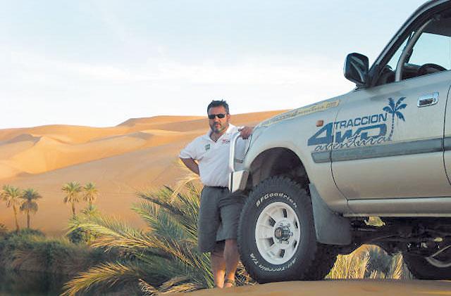 Desafío navarro en el desierto
