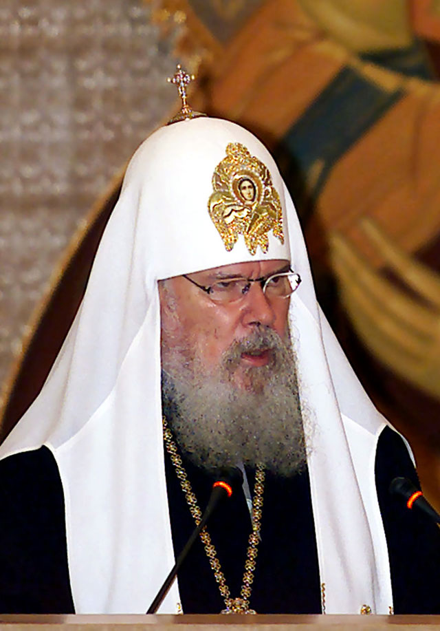 Fallece Alexis II, Patriarca de la Iglesia Ortodoxa Rusa