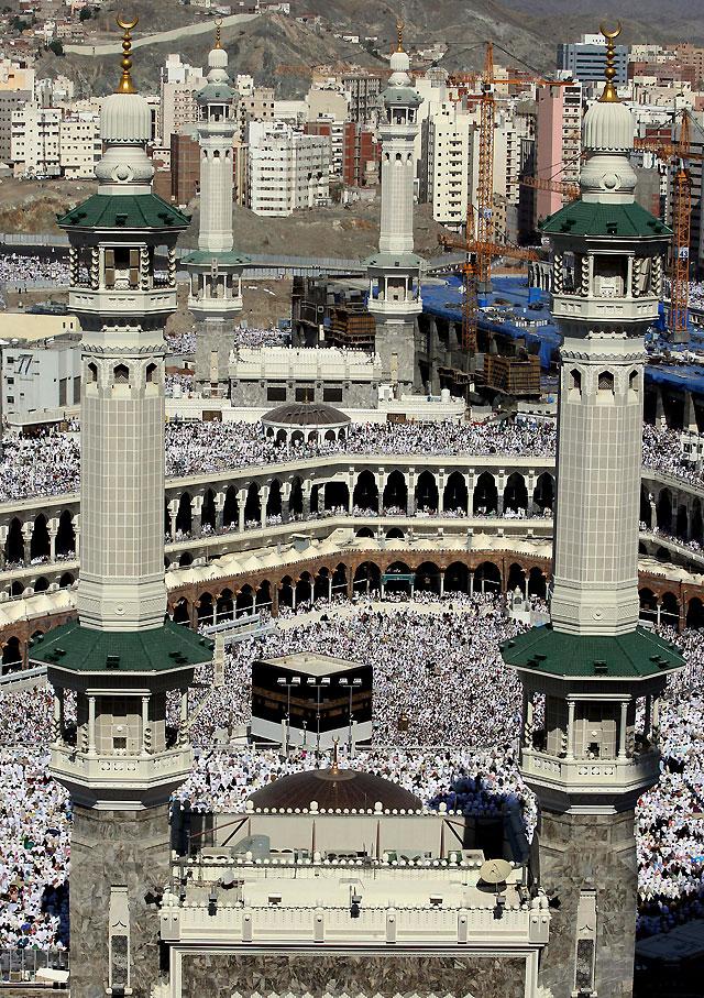 Seguridad sin precedentes en la Meca ante el inicio de la peregrinación anual musulmana