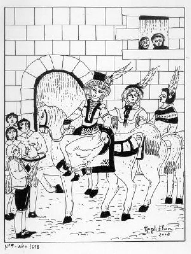 1698 y la visita especial