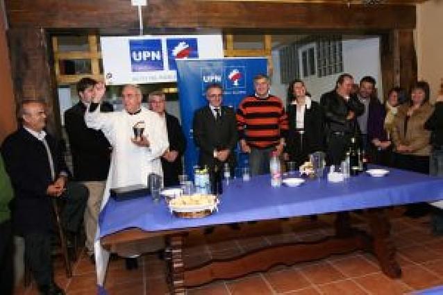 UPN estrena su nueva sede en la calle Sancho el Fuerte