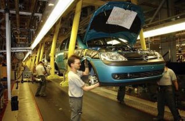 La producción industrial creció en Navarra un 2% en octubre