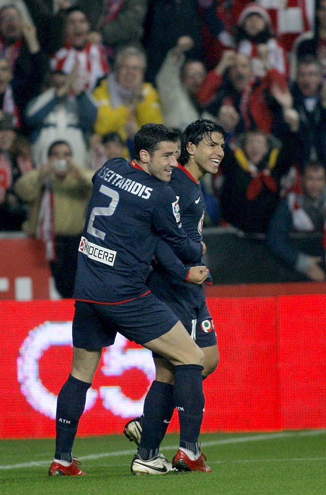 El Atlético muestra su pegada en El Molinón (2-5)