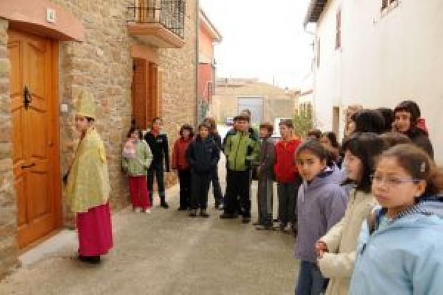 """Pequeños """"obispos"""" en la Valdorba"""