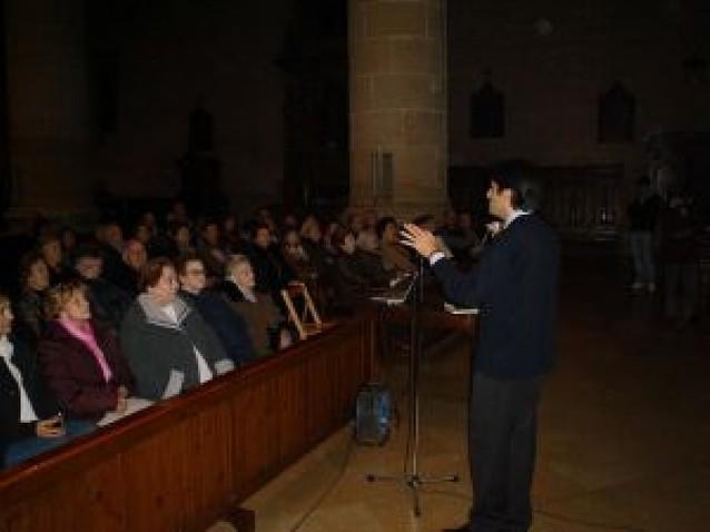 Ricardo Fernández ofrece una charla sobre la historia y el arte de los belenes