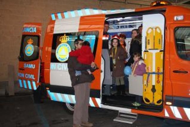 Una exposición en Tudela acoge a 25 asociaciones de Protección Civil