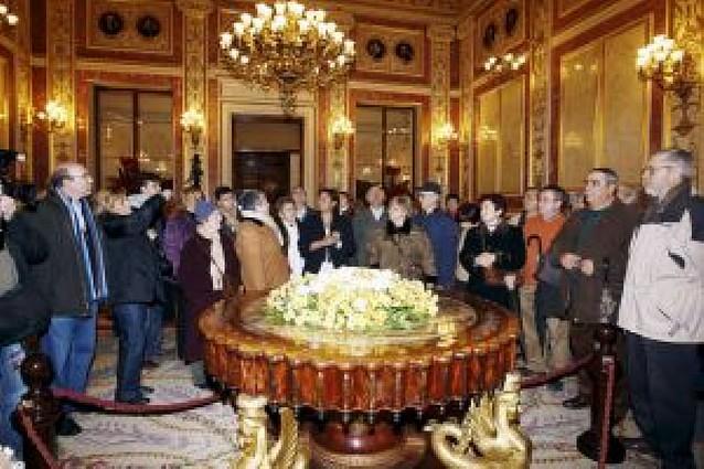 La Puerta de los Leones del Congreso se abrió también para los ciudadanos