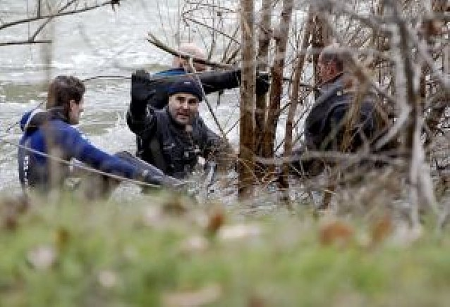 Hallan el cuerpo sin vida del operario desaparecido en Puente la Reina