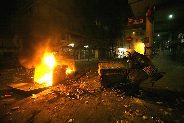 La situación en Grecia se tranquiliza tras dos días de graves disturbios