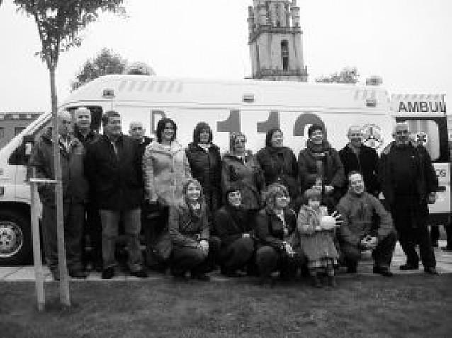 DYA refuerza con una ambulancia la cobertura a un centenar de pueblos