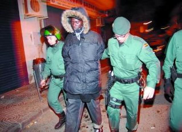 Incidentes entre inmigrantes tras el asesinato de un subsahariano en Almería