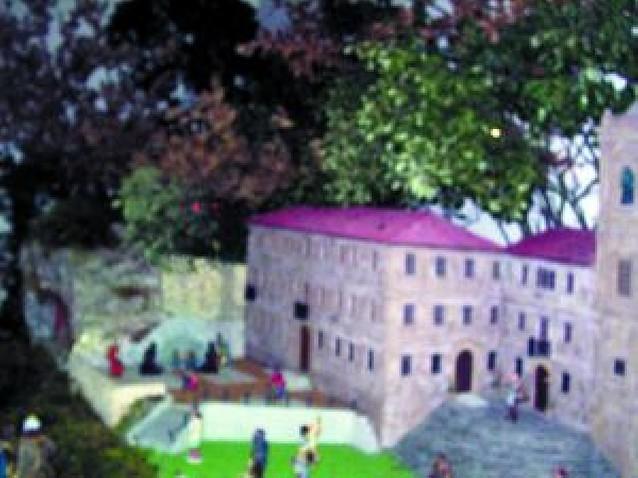 El santuario de Codés prepara la Navidad con el montaje de un belén y un ciclo de música