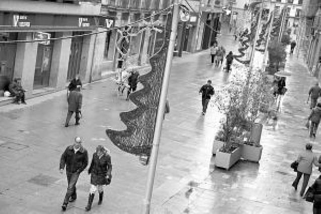 Tudela ahorrará unos 2.000 euros en el consumo de su iluminación navideña