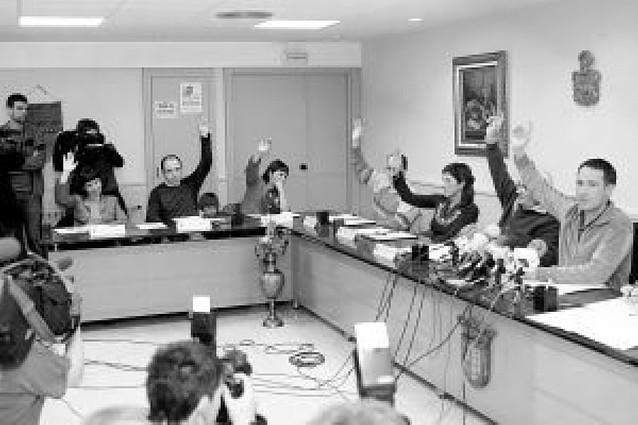 """NaBai """"rompe"""" con ANV en Berriozar, pero le mantiene en las comisiones"""