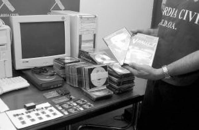 La piratería de software costó 12 millones a Navarra en 2007