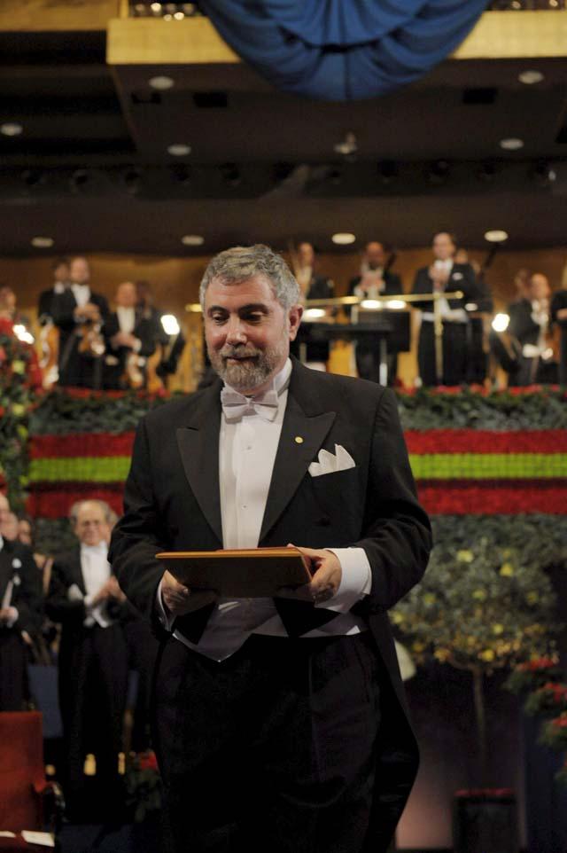 La Academia Sueca entrega los Premios Nobel 2008