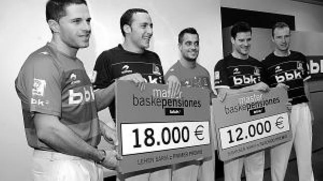 18.000 euros para el campeón