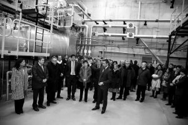 """La Ciudad Agroalimentaria inaugura el """"pulmón energético"""" que dará vapor y frío a las empresas"""