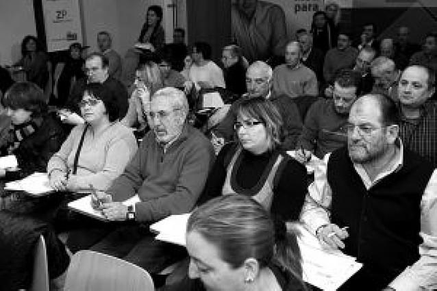 Jiménez (PSN) pide a sus alcaldes que no actúen como Barcina y pacten el fondo local