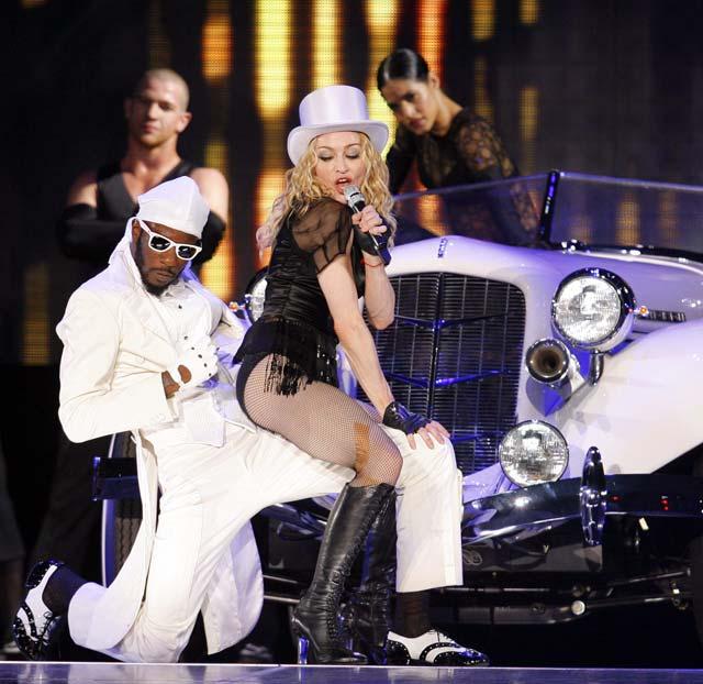 Madonna deslumbra en su primera actuación en un escenario chileno